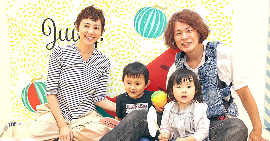 子育て中のママに人気のイラストレーター、横峰沙弥香さんご一家がOYACO nohana(オヤコノハナ)ららぽーと立川立飛店にご来店