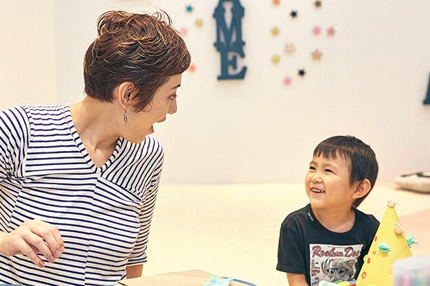 子どもが話しかけてきたら、とにかく聞くようにしている横峰沙弥香さん