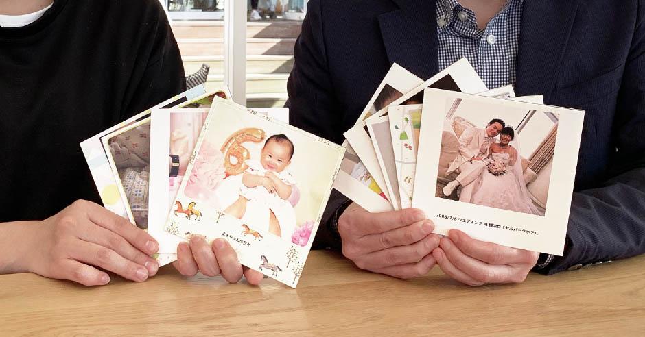 ノハナ社の子育て中パパ・ママに聞く「私たちのフォトブックづくり」