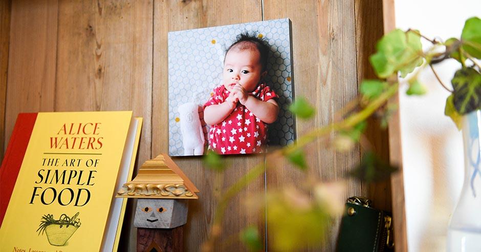簡単に写真を壁に飾れるウォールデコ