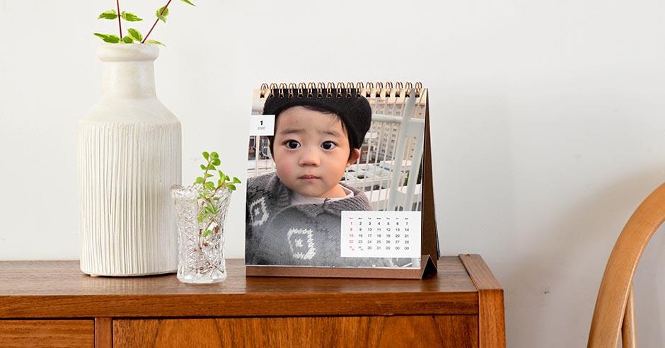卓上カレンダー『COYOMI』の飾り方