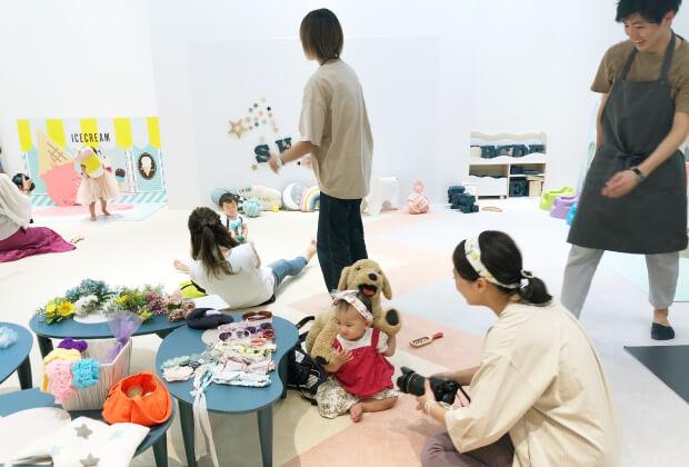 実践の中で個別に指導してもらえるのが嬉しいママ向けカメラレッスンinオヤコノハナ