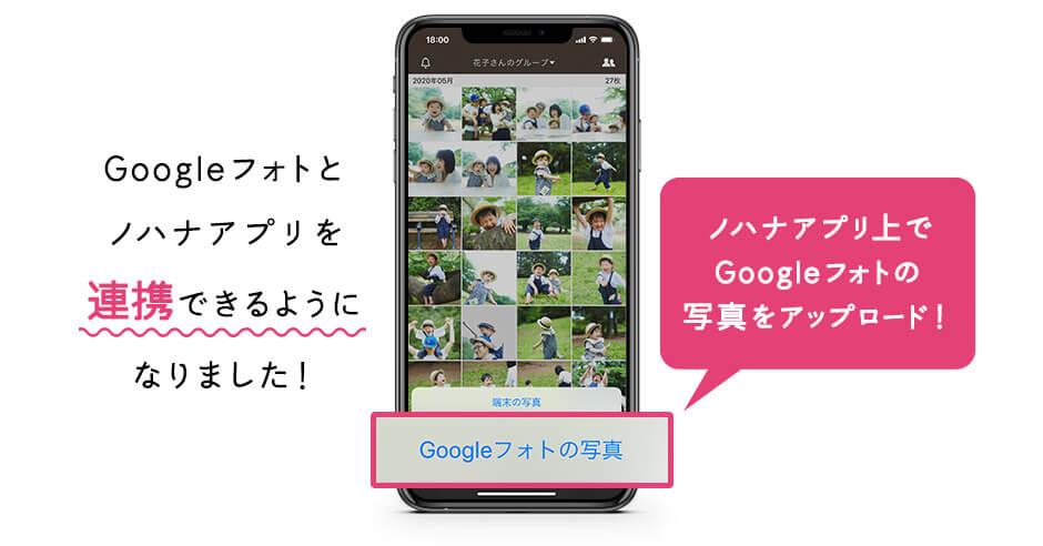 googleフォト連携