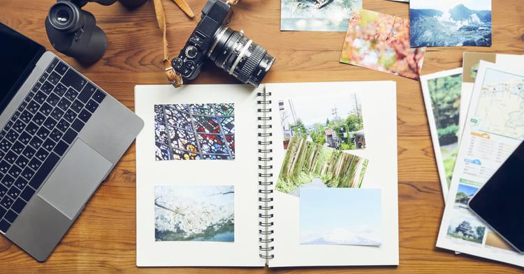 写真整理_スクラップブック