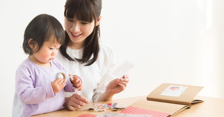 写真整理_ママと子ども