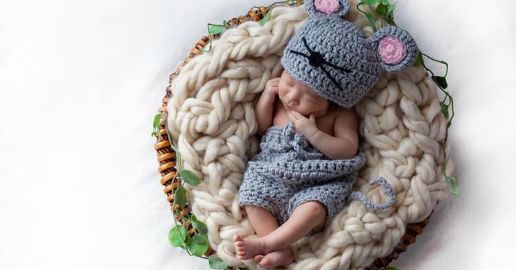 ニューボーンフォト_赤ちゃん衣装