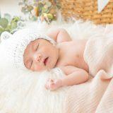 ニューボーンフォト_寝ている赤ちゃん