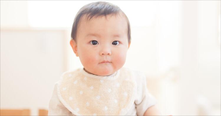 赤ちゃんスタイ_乳児