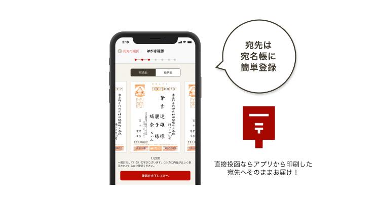年賀ガイド記事 ご利用の流れStep4