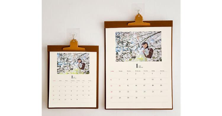 カレンダー記事 壁かけタイプカレンダー