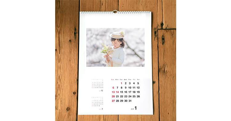カレンダー記事 壁かけリングタイプカレンダー